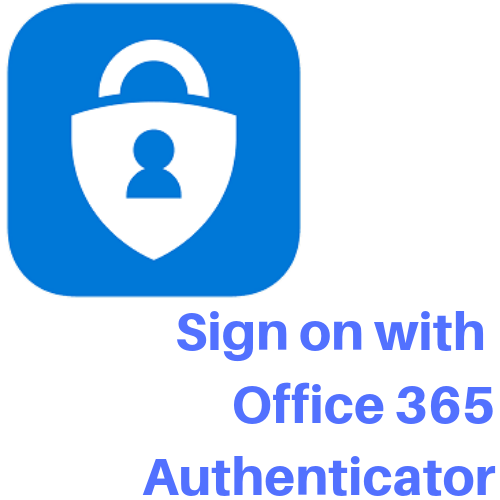 sign on with office 365 authenticator