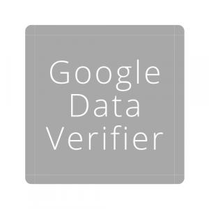 google data verifier