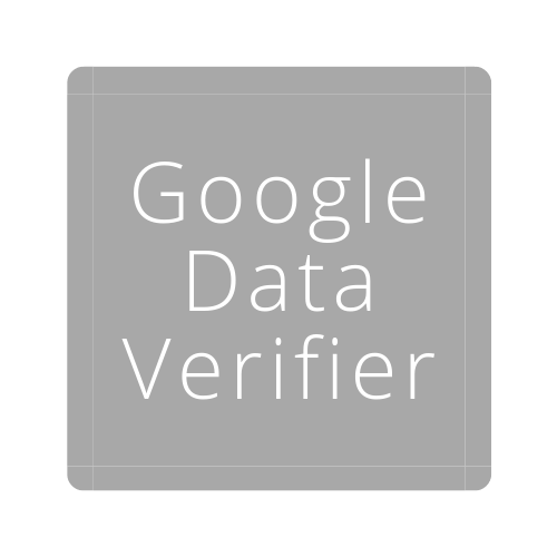 google data verifier