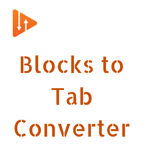 Blocks to Tab Converter